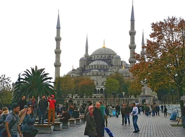 достопримечательности Стамбула, Голубая мечеть