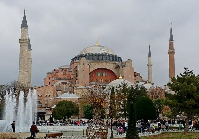 достопримечательности Стамбула. собор св. Софии