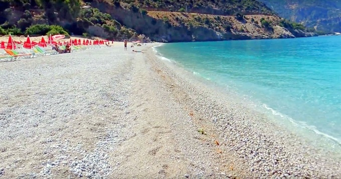 курорты эгейского побережья Турции. Олюдениз
