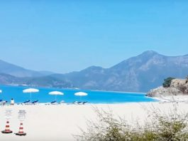 турция. пляж олюдениз