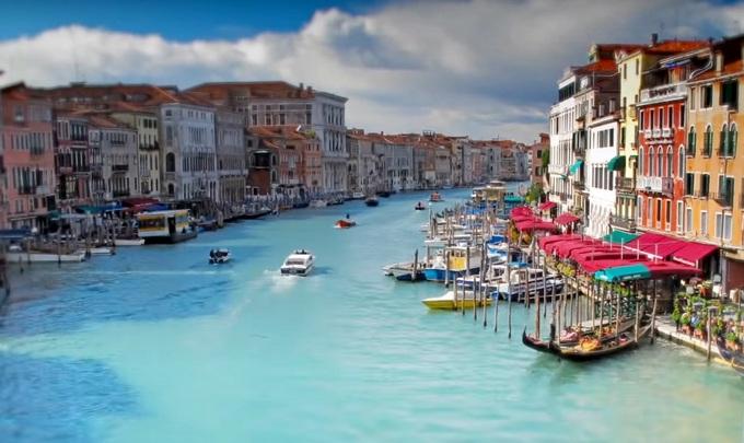 Гранд канал. Достопримечательности Италии