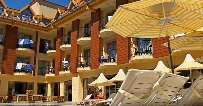 Astoria 4* молодежный отель, все включено