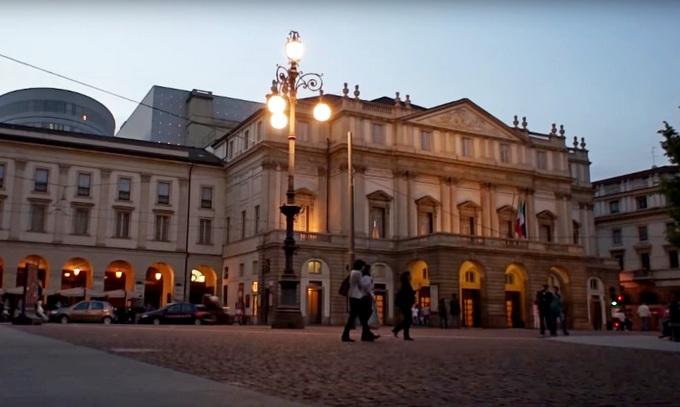 Ла Скала. Милан
