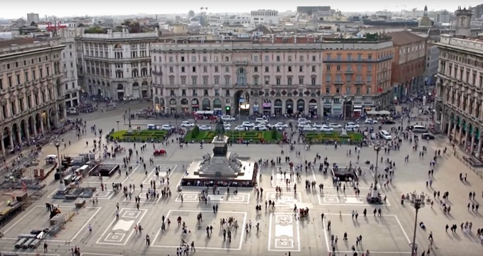 Города Италии. Милан