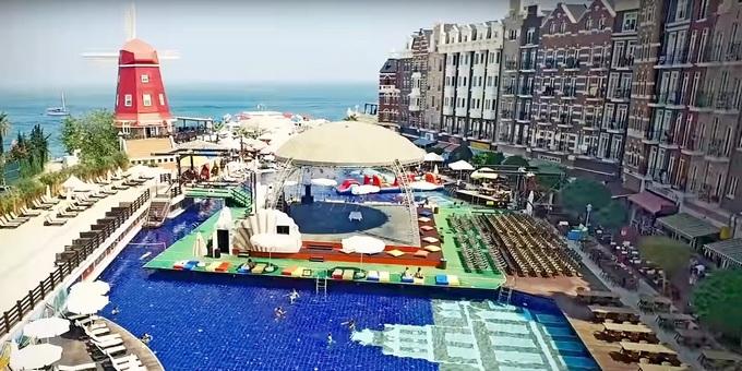 молодежные отели кемера Orange County Resort