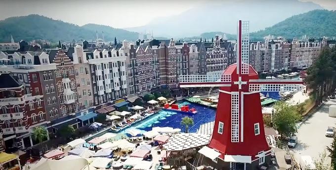 ORANGE COUNTY RESORT HOTEL -лучший тусовочный отель Турции