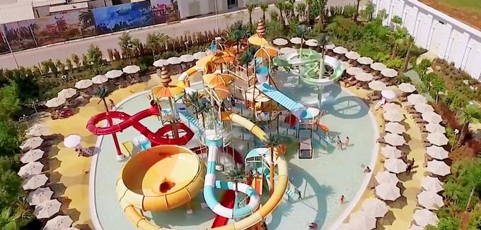 Новый аквапарк Rixos World The Land Of Legends