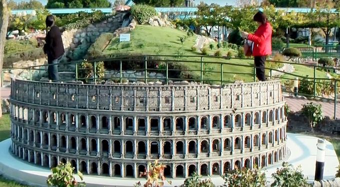 римини . парк Италия в миниатюре