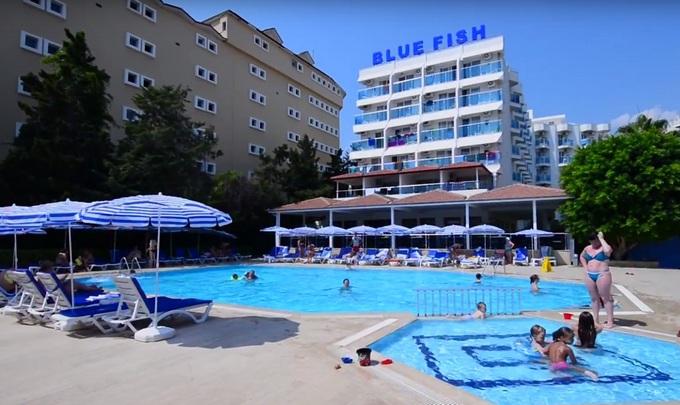 Отели Турции для семейного отдыха. Blue Fish Hotel 4*семейные отели Турции 2017