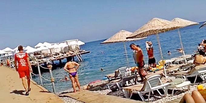 Пляж отеля Alkoclar