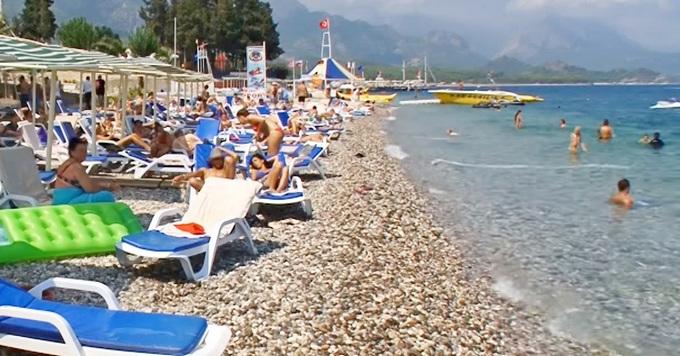 Crystal De Luxe пляж