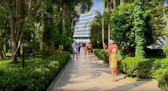Отели для семейного отдыха в Турции