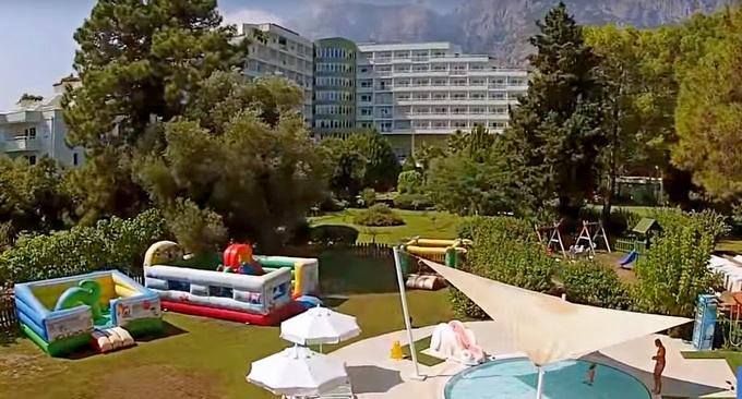 Ghazal Resort Thalasso дети