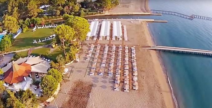 песчаный пляж в Гейнюк