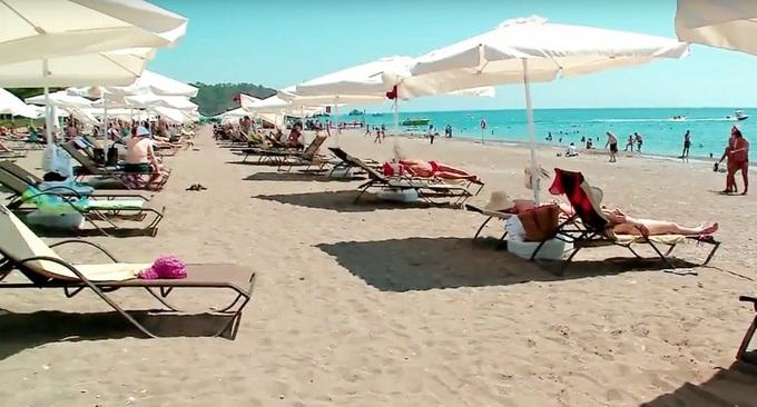 отели Кемера с песчаным пляжем
