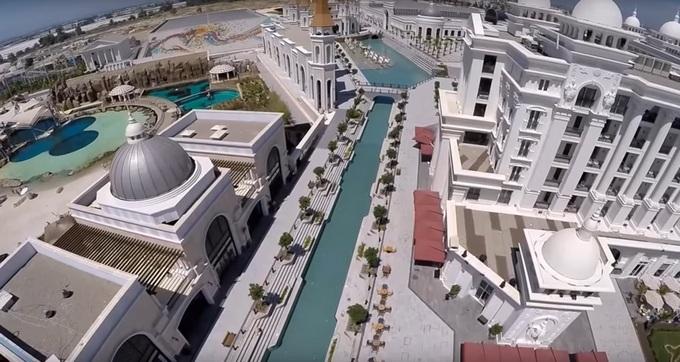 новый отель в Турции Rixos Land Of Legend