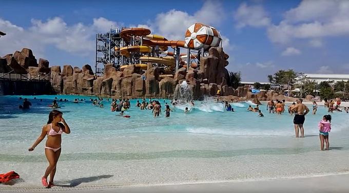 новый отель с аквапарком в Белеке Rixos Land Of Legend