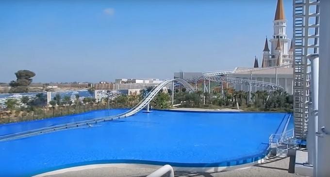 Новый отель с аквапарком в Турции