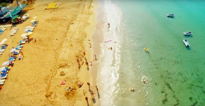 пляж гостиницы PEGASOS ROYAL