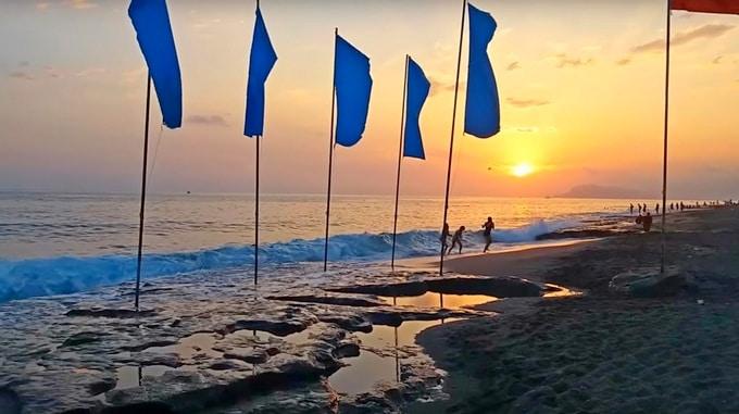 турция пляж махмутлар