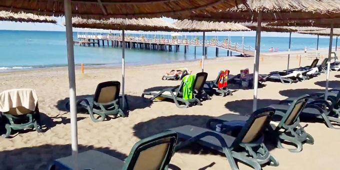 отели Турции с песчаным пляжем