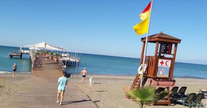 отели Турции с пологим входом в море.