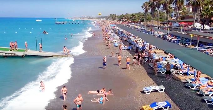 Meryan пляж