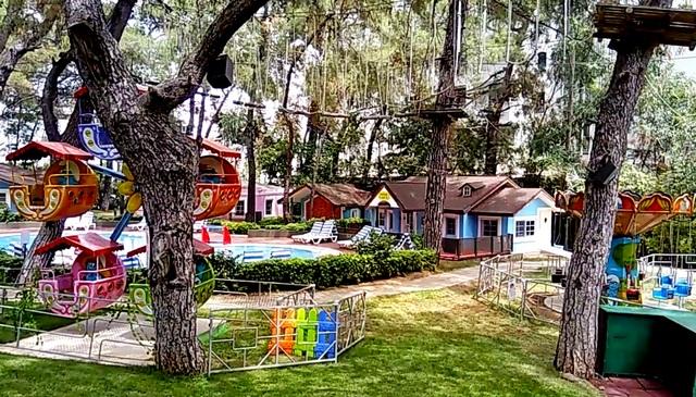 детский клуб отеля Клуб Турбан