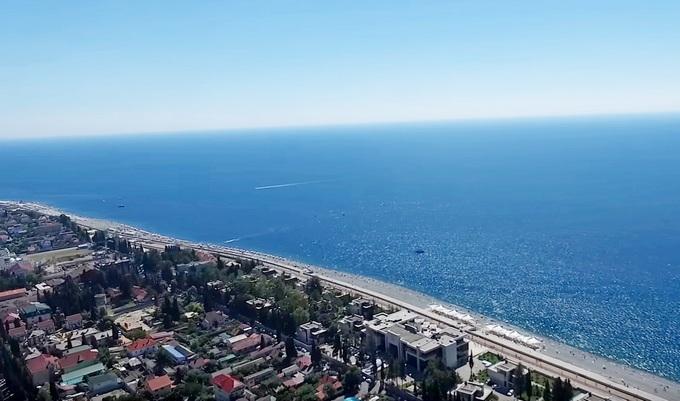 пляжи и отели Имеритинской бухты
