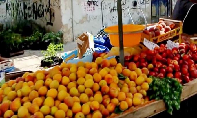 цены на фрукты и овощи на рынках