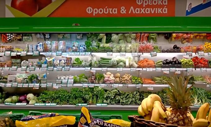 цены в супермаркетах Греции