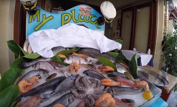 цены на морепродукты