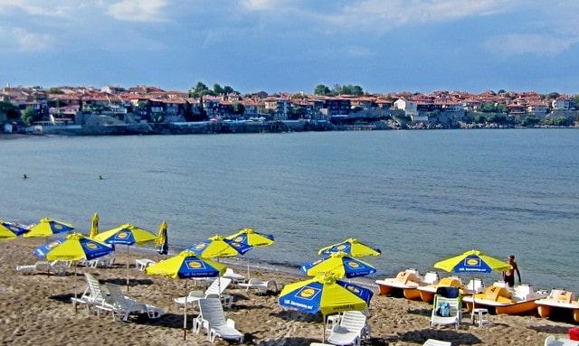 Спокойный отдых в Болгарии в сентябре 2017. Созополь