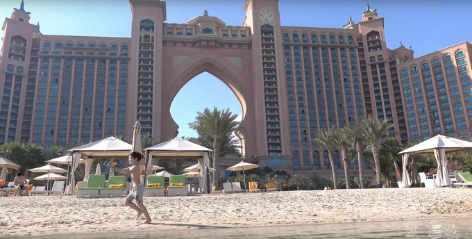 туры с детьми в Atlantis The Palm