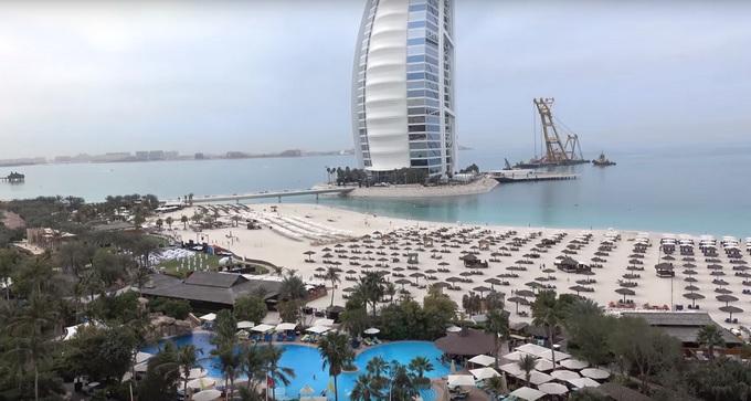 отдых с детьми в Дубае. Jumeirah Beach